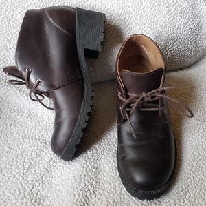 Eastland leather chukka boot with chunky sole 7